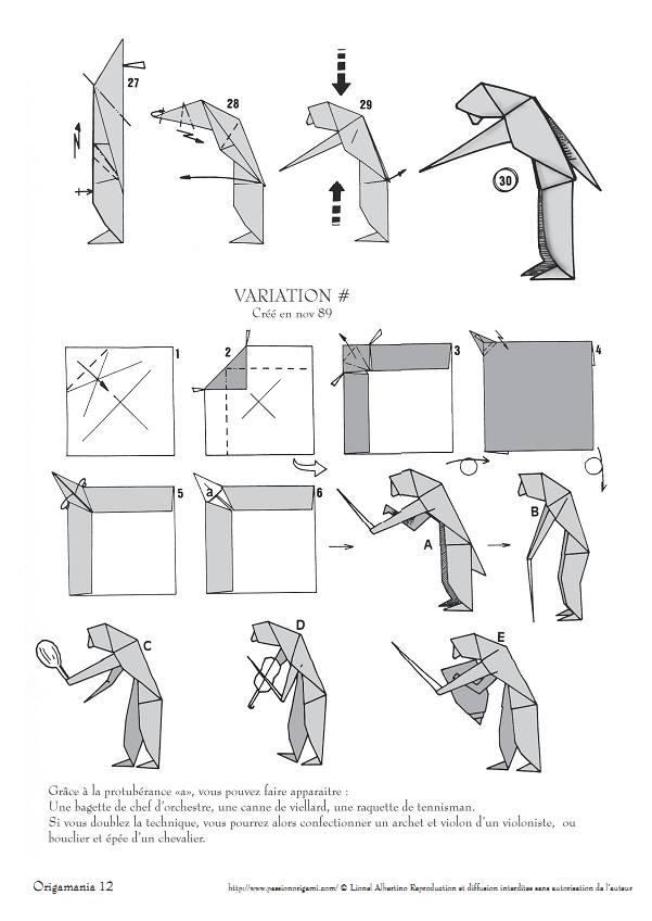 Origami Animals instructions | 848x601