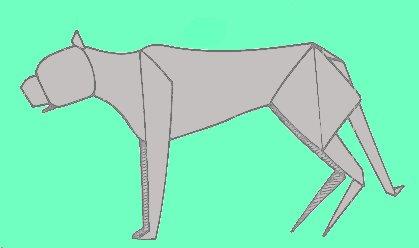 Gorilla Origami Gepard Cheetah
