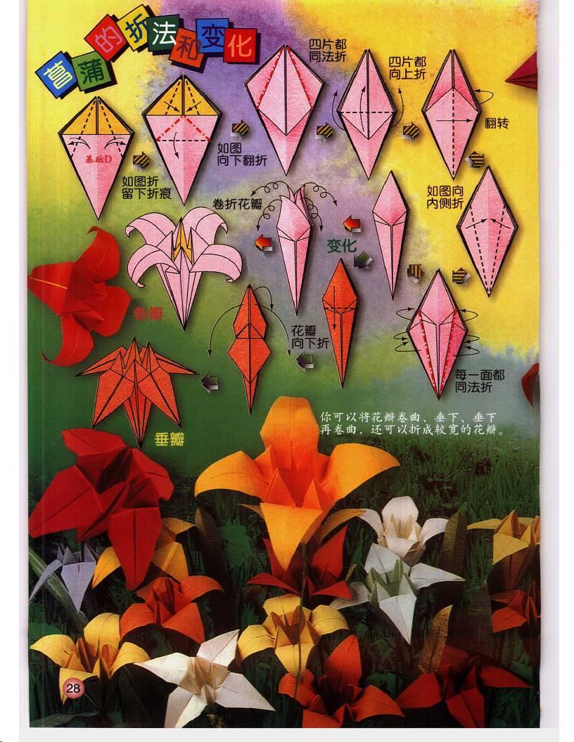 Art Pop Origami Flowers Book