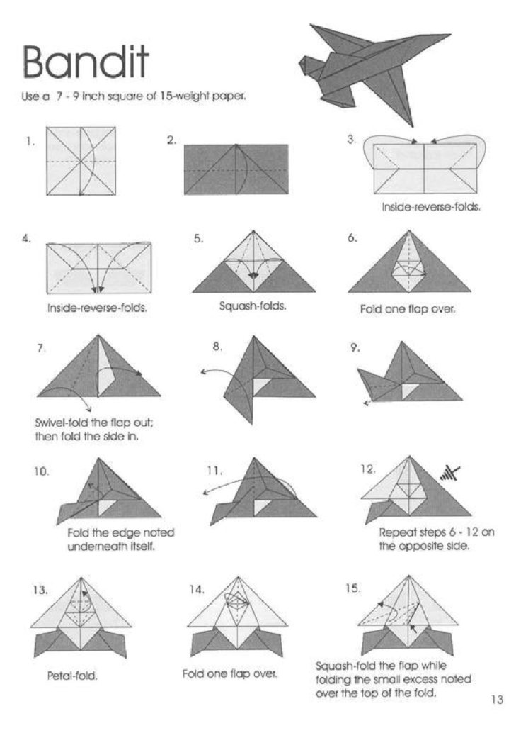 origami aircraft jayson merrill