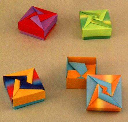 origami boxes tomoko fuse book