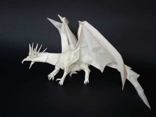 Antique Dragon Origami Very Complex
