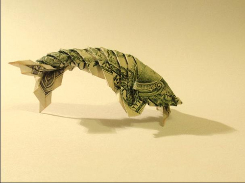 Dollar Origami: 15 Origami Projects Including the Amazing Koi Fish ... | 375x500