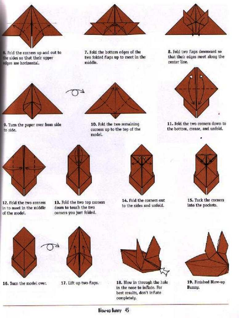 Origami Bunny =D Yay! · How To Fold An Origami Rabbit · Origami on ... | 1032x776