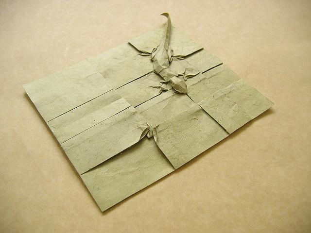 Complex Origami Diagrams - OrigamiArt.Us