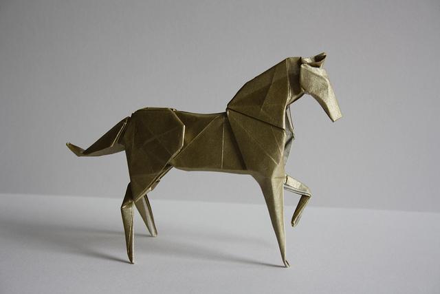 Horse By Hideo Komatsu