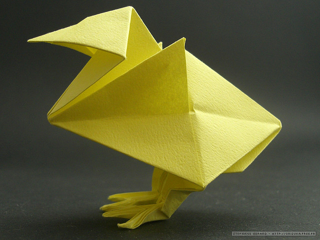 3d Origami Chicken Instructions