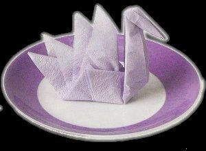 How To Fold A Swan Napkin   Wedding Ideas   220x300