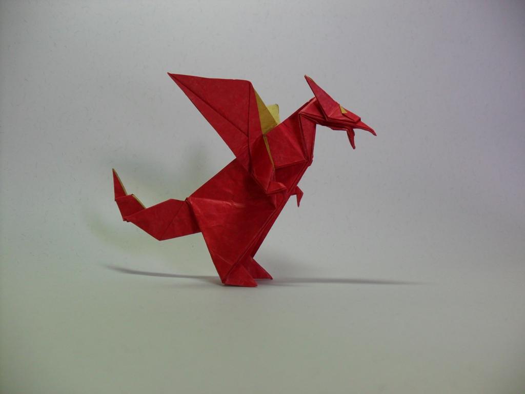 western dragon : origami western dragon diagram - findchart.co