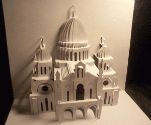 Sacred Heart Model 3D Origami