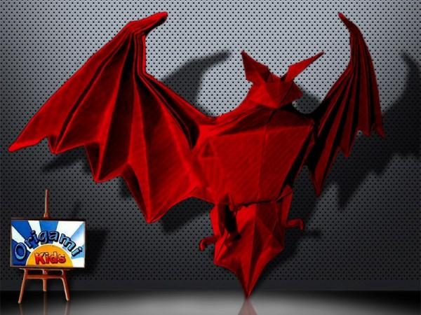 Bat Heart Origami Origami Bat Miyajima
