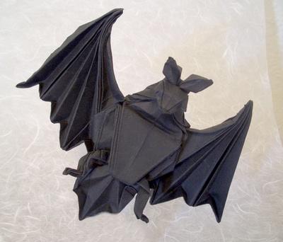 Bat Heart Origami Origami Bat Miyajima Noboru