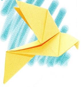 Origami Dove Single Chart