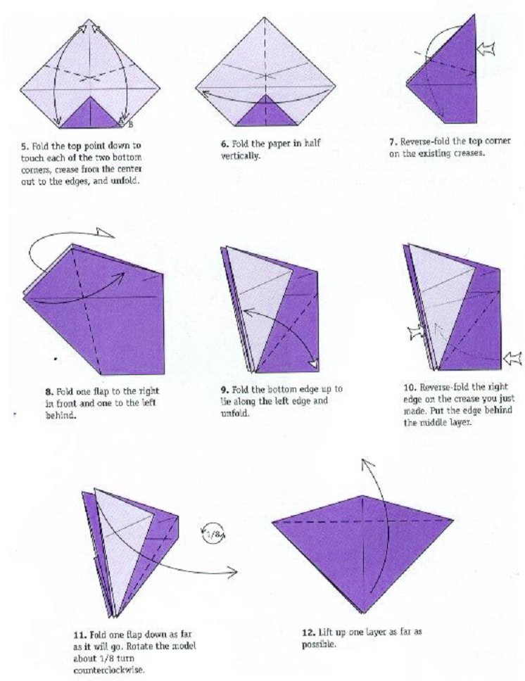 5 Cool Things to Do with Origami Paper Cranes « The Secret ... | 968x746