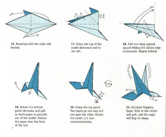 Bird Flaps Its Wings Origamiart Us