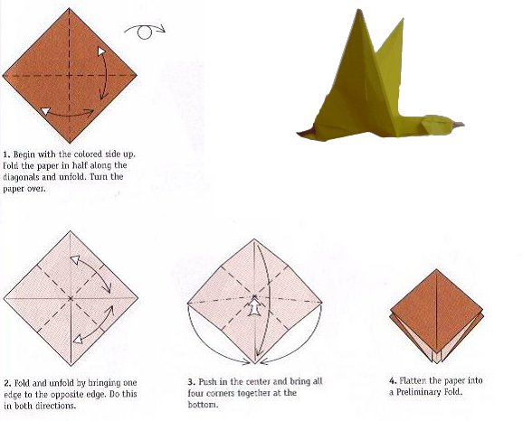 origami duck instructions wwwpixsharkcom images