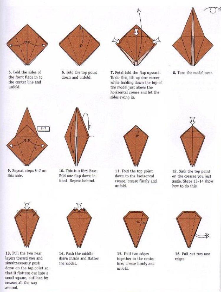 Razcapapercraft: HOW TO MAKE 3D ORIGAMI SWAN (MODEL3) | 990x750