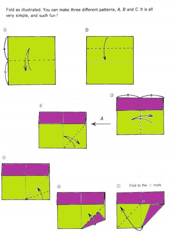 simple square diagram beautiful origami box origamiart us  beautiful origami box origamiart us