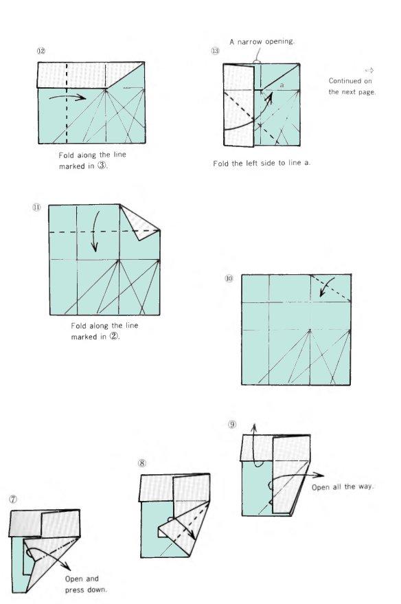 Octagonal box origami  OrigamiArtUs