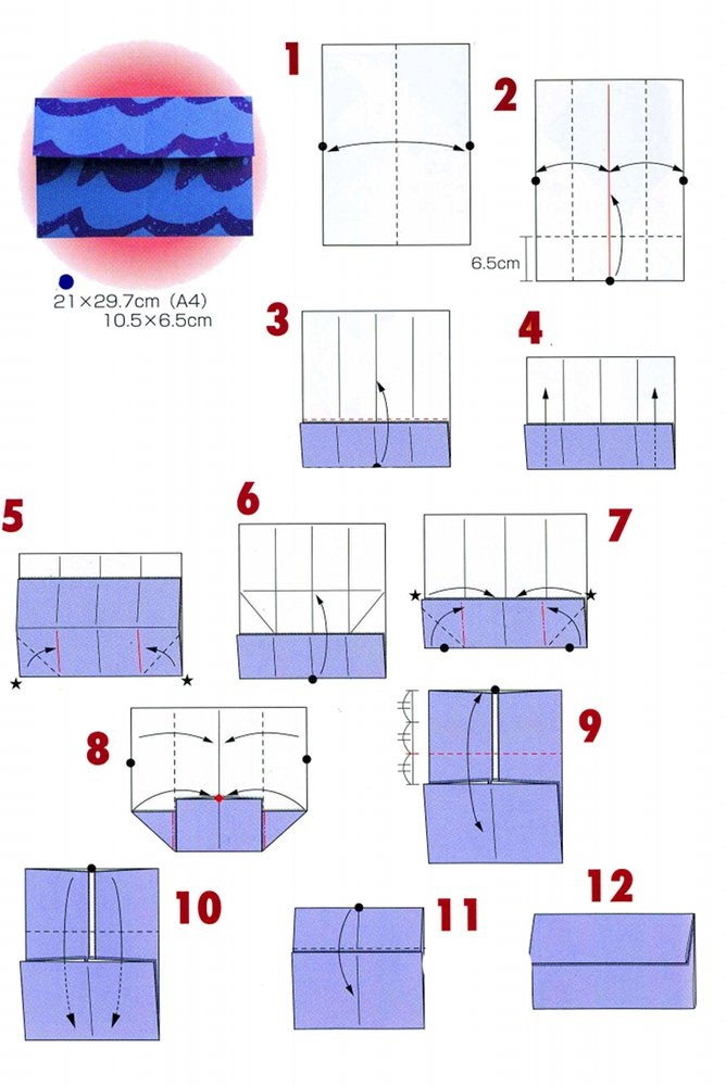 How To Make Origami Person Step By Step
