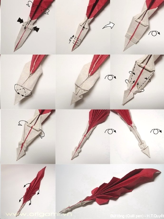 Feather Origami