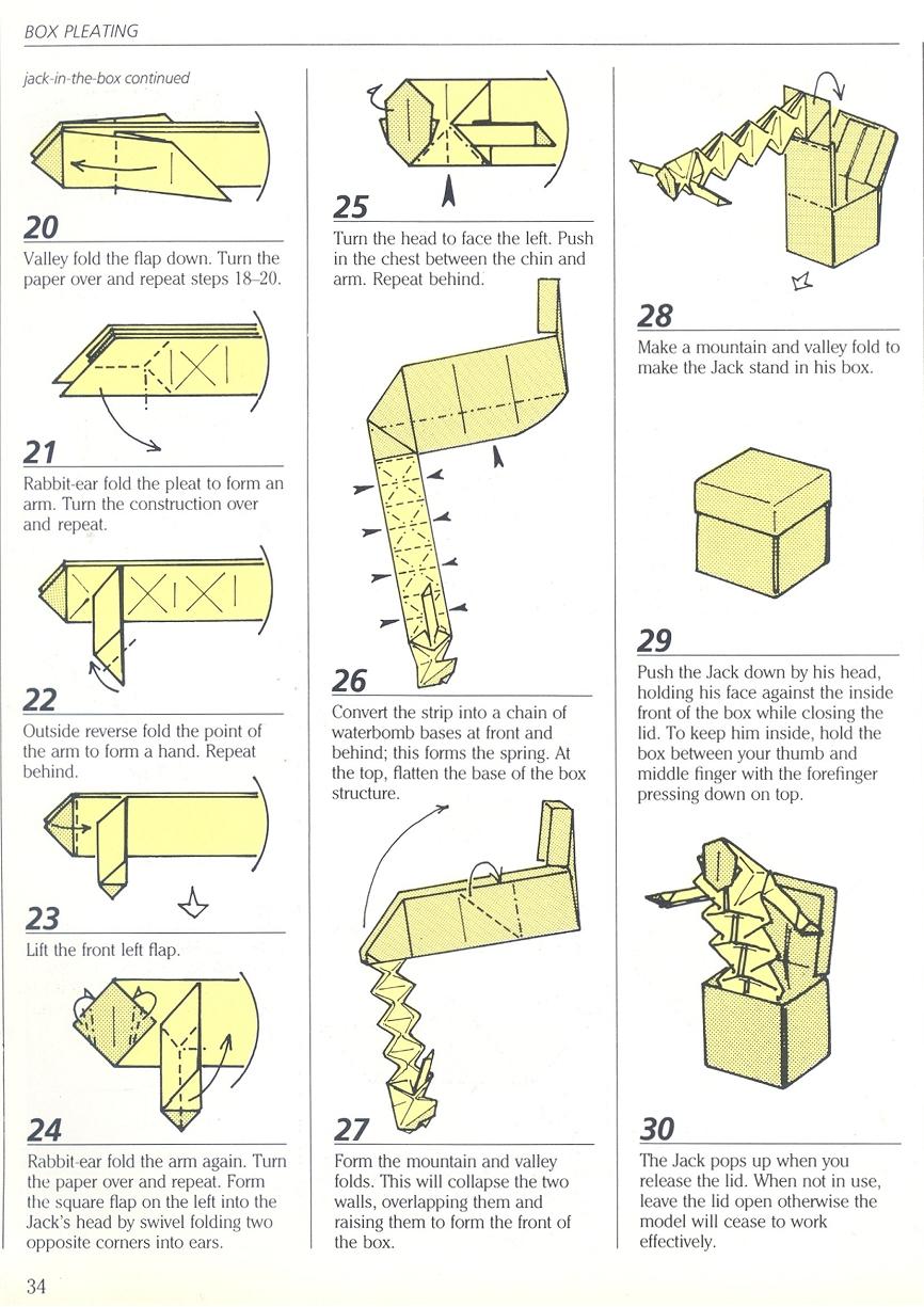 Surprise Box Origami Origamiart Us