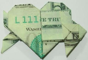 Dollar Origami Heart Tutorial - How to make a Dollar Heart - YouTube | 245x357