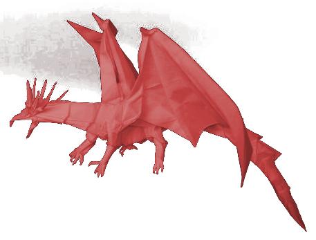 3D Origami Dragon Tutorial | Cómo hacer el dragón chino del ... | 347x457