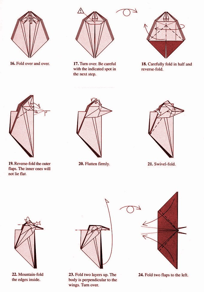 Robert lang origami instructions origami butterfly robert j lang 3 - Origami Butterfly Instructions