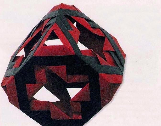 Scheme Origami Modular Cube Part4