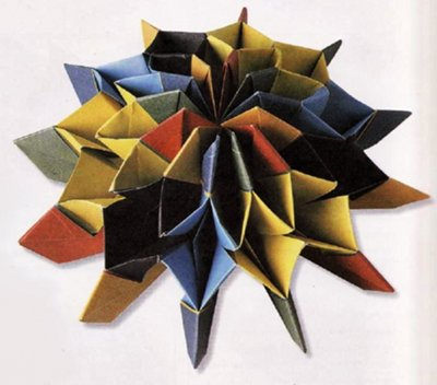 fireworks origami diagram of the modules fly dissection