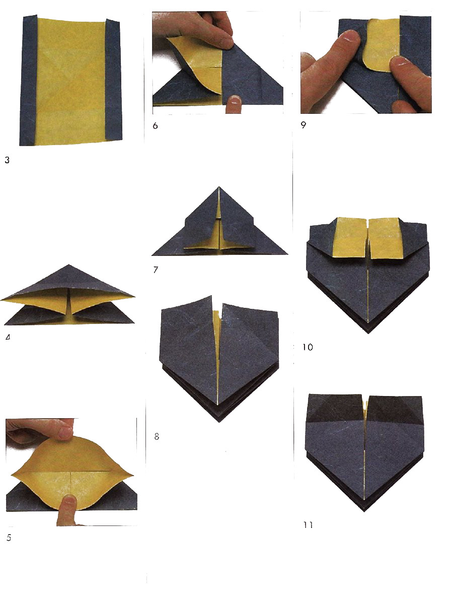 Fireworks Origami Diagram Of The Modules