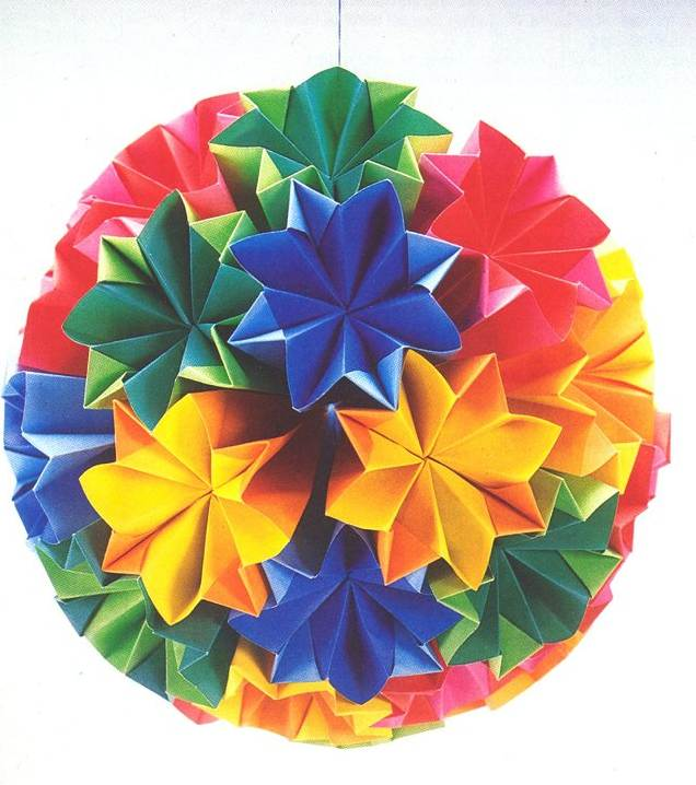 Traditional Japanese Kusudama