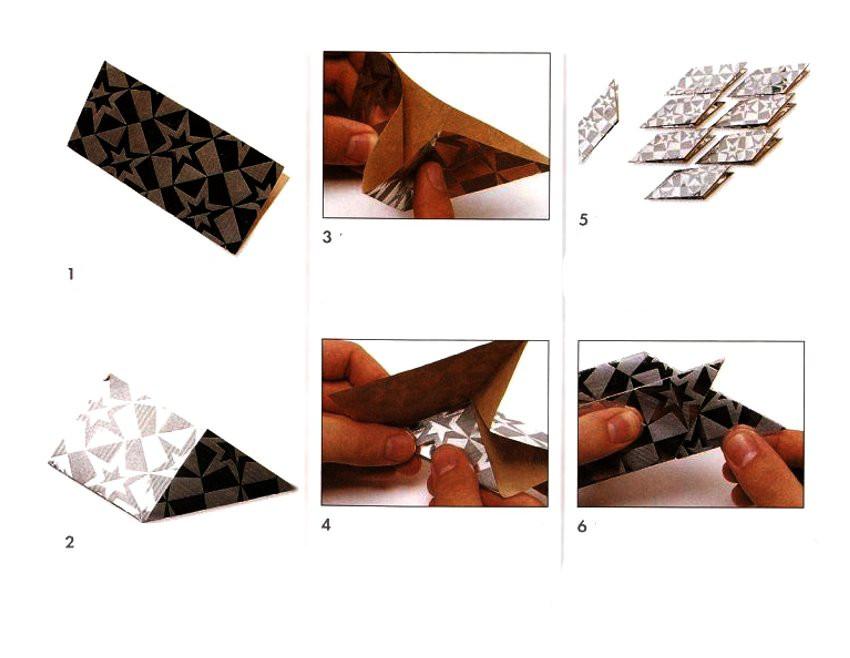 Magic Star Ring Origami Modules