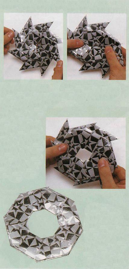 Origami 2 The Magic Star Ring Transformation
