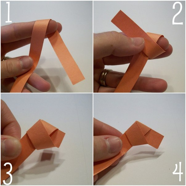 Как сделать оригами звёздочки поэтапно