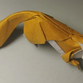 Very Easy Origami Fox | 293x293